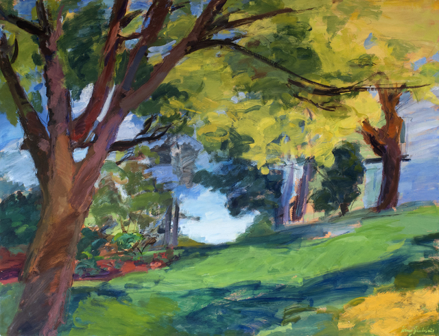 , 'Yellow Canopy,' 2019, Valley House Gallery & Sculpture Garden