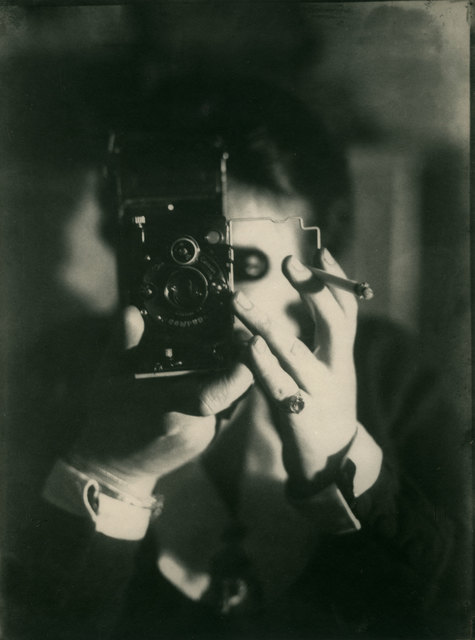 , 'Self-Portrait with Camera,' 1925, Charles Schwartz Ltd.