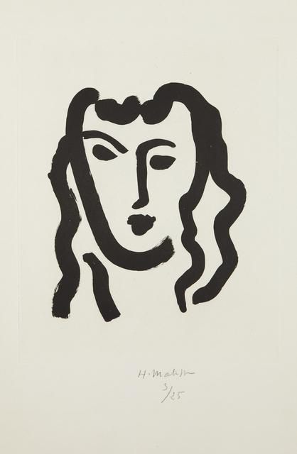 Henri Matisse, 'Patitcha. Masque', 1947, Phillips