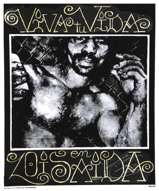 Martin Wong, 'Viva tu Vida en Loisaida', 1988-1992, Print, Silkscreen, RoGallery