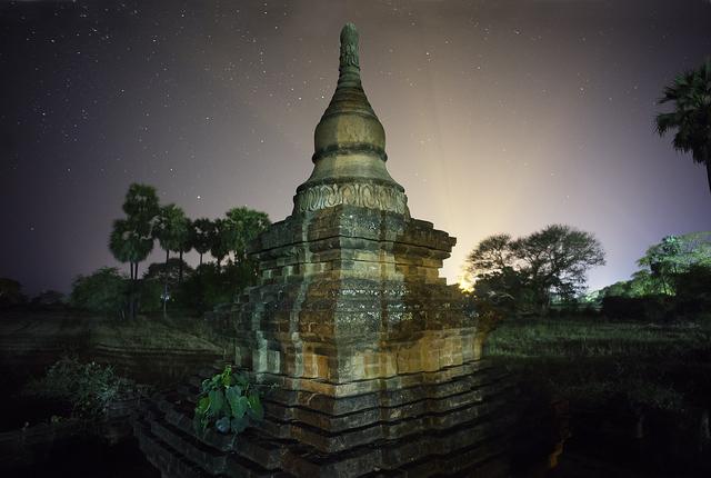 , 'Bagan Umbra Pagoda 3,' 2014, Addison/Ripley Fine Art