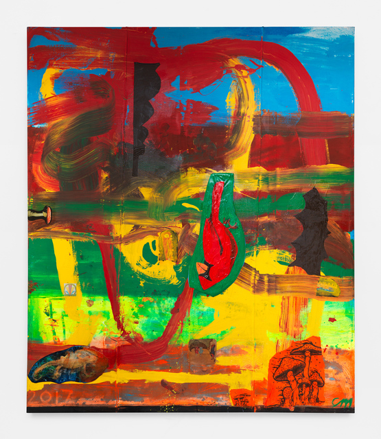 Chris Martin, 'Commander Salamander', 2017, Anton Kern Gallery