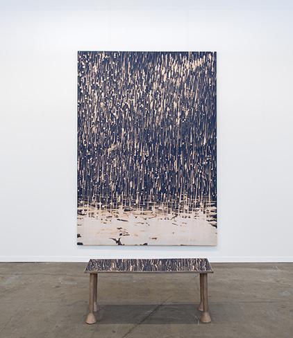 , 'Precipitation + Seat,' 2016, Rodolphe Janssen