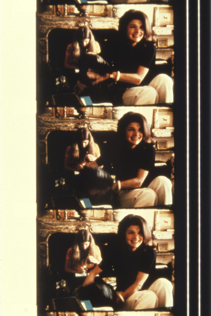 , 'Jackie Kennedy-Onassis with Caroline Kennedy and her dog at her New York home, 1970,' 2013, Deborah Colton Gallery