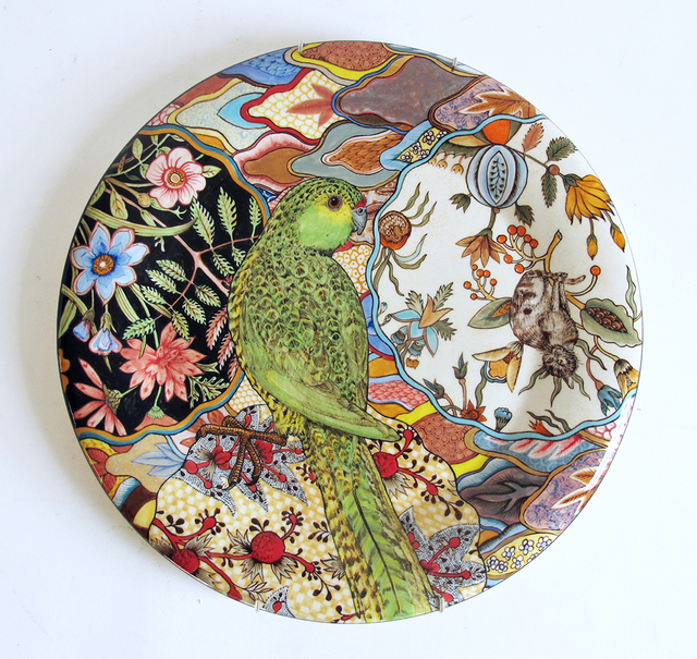 , 'Camouflage Plate: Ground Parrot; Pezoporus Wallicus,' 2015, Ferrin Contemporary