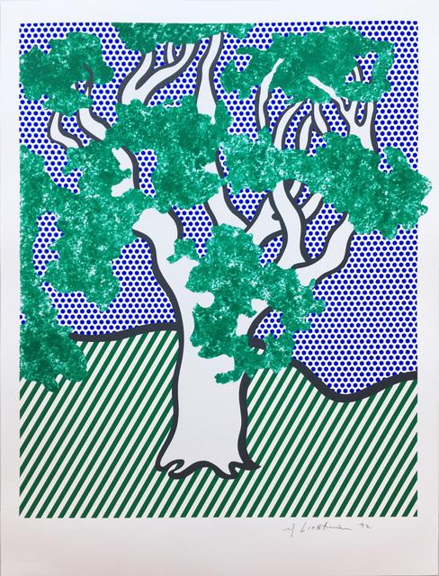 Roy Lichtenstein, 'Rain Forest', 1992, Hamilton-Selway Fine Art
