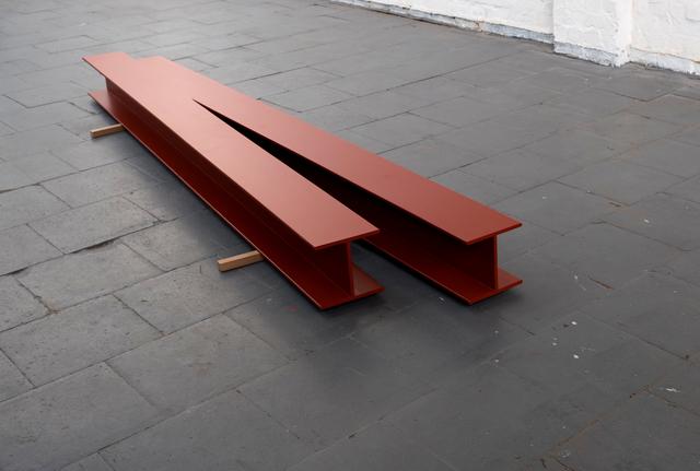 , 'Dobbel beam,' 2016, Irene Laub Brussels