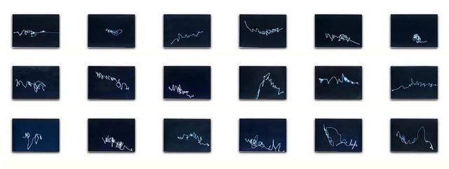 , 'Lunar Writings II,' ca. 1976, Henrique Faria Fine Art