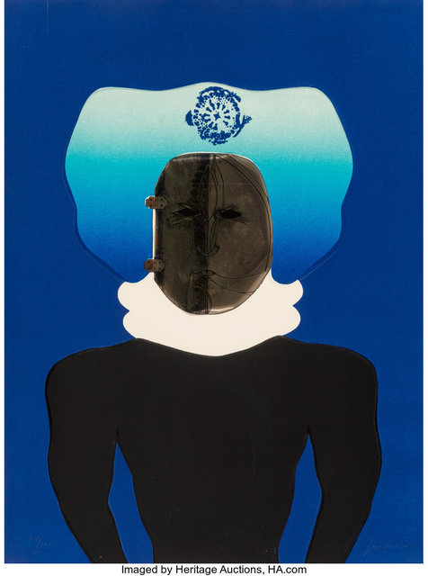 Jose Luis Cuevas, 'La Mascara, from the Homage to Quevedo Portfolio', 1969, Heritage Auctions