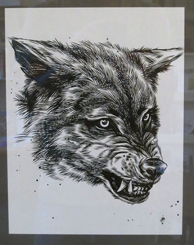 , 'Gray Wolf,' 2014, Subliminal Projects