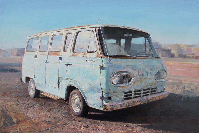 , 'Falcon Van,' 2017, Sue Greenwood Fine Art