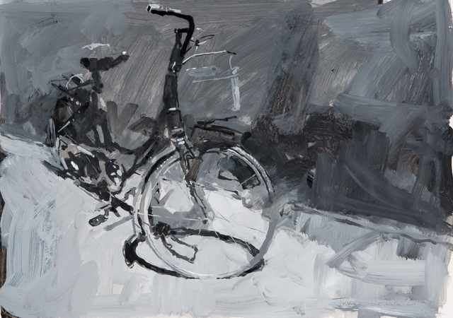 , 'Bicycle, Beijing,' 2014, DELAHUNTY