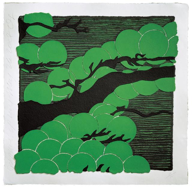 , 'Japanese Pines,' 2008, Mixografia