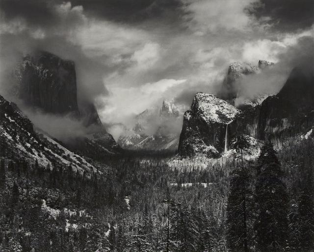 Ansel Adams, 'Clearing Winter Storm, Yosemite National Park, CA 1944', 1944-printed 1970s, Scott Nichols Gallery