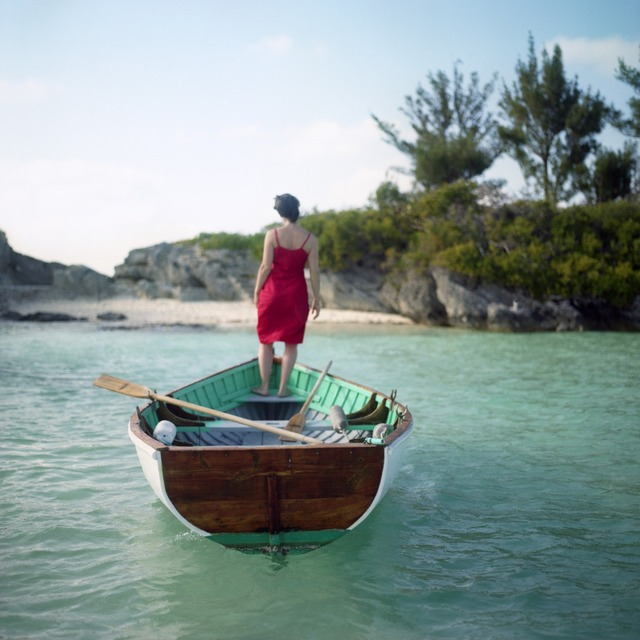 Cig Harvey, 'Flood Tide, Self-portrait, Mangrove Bay, Bermuda', 2005, Robert Klein Gallery