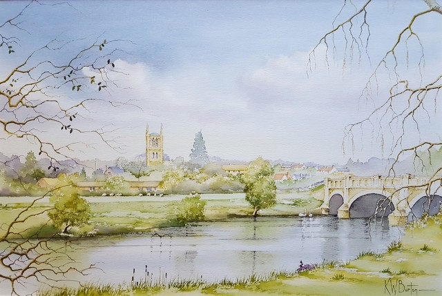 Ken Burton, 'Pershore, Worcestershire', 1988, Graves International Art