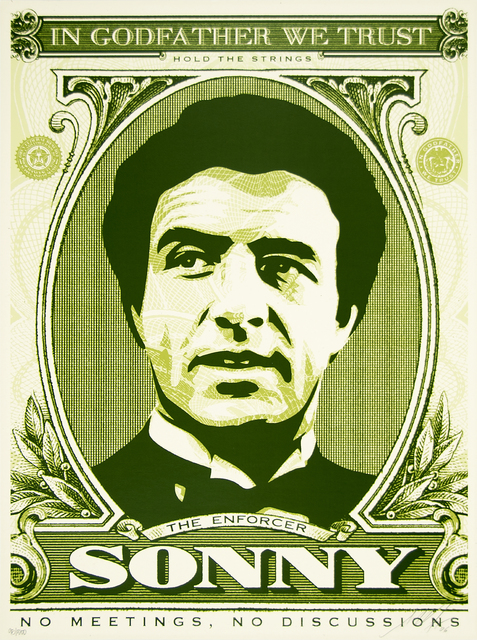 Shepard Fairey (OBEY), 'Sonny (God Father Matching Numbers Set)', 2006, Heather James Fine Art Gallery Auction