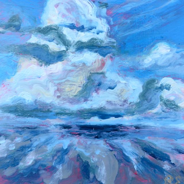 , 'Petite Cloud V ,' 2017, Brickworks Gallery