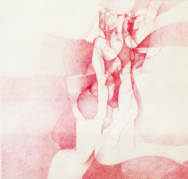 Jamil Naqsh, 'untitled ', 1982, Drawing, Collage or other Work on Paper, Ball point ink on paper, Eye For Art Houston