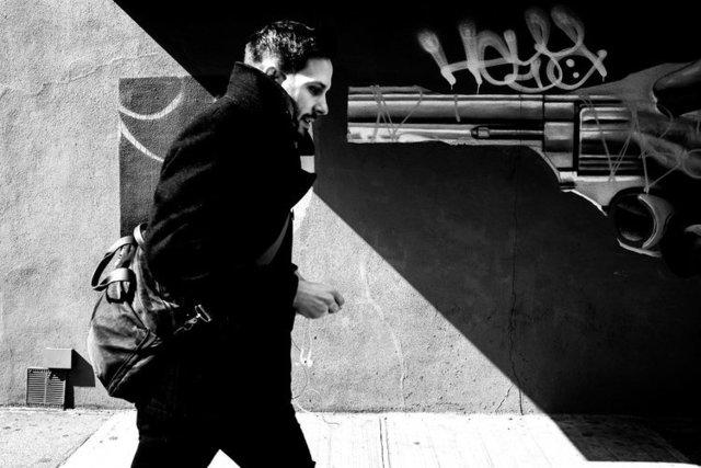 Kirill Polevoy, 'Gun, Brooklyn', 2018, Gallery Victor Armendariz