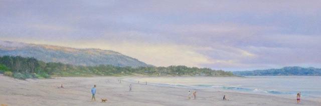 , 'Carmel Beach ,' 2019, Andra Norris Gallery