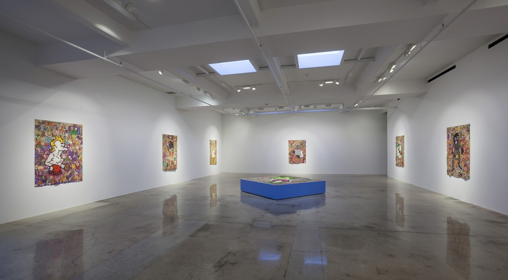 Camilo Restrepo, Tight Rope, Installation view, Steve Turner, September 2015