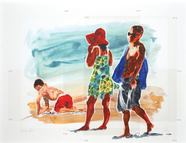 , 'Man, Woman, Boy,' 2018, Sims Reed Gallery