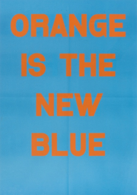 Jeremy Deller, 'Orange Is The New Blue', 2017, Forum Auctions