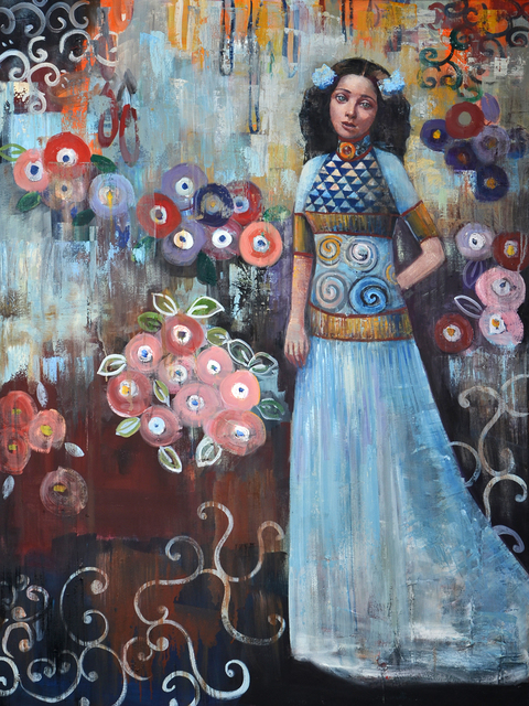 , 'Azul,' 2018, Blue Rain Gallery