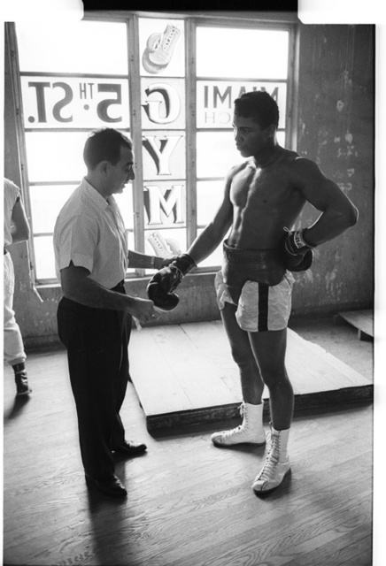 , 'Cassius Clay with Trainer Angelo Dundee, Fifth Street Gym, Miami,' 1963, TASCHEN