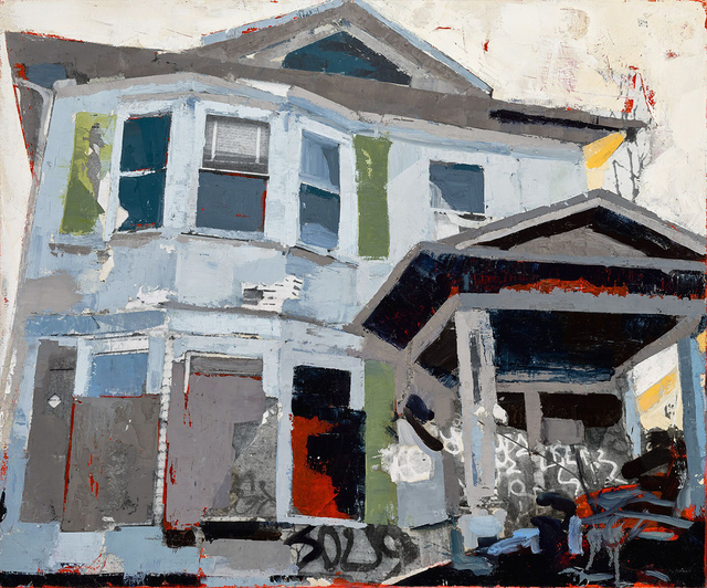 , 'House Fire,' 2017, Linda Hodges Gallery