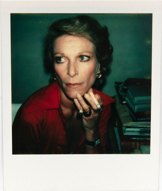 Andy Warhol, 'Polaroid Photograph of Nan Kempner', 1973, Hedges Projects