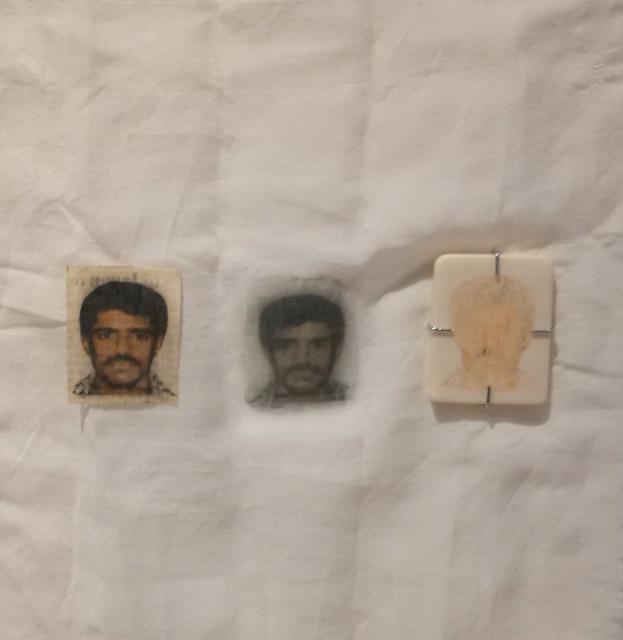 , 'Terror Card II,' 2009, Burning in Water