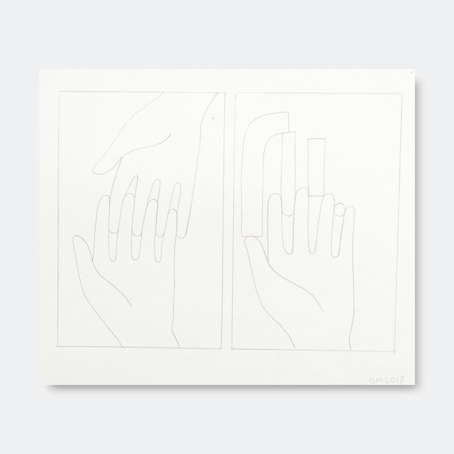 Geoff McFetridge, 'Hands and Hand Shapes 2', 2018, V1 Gallery