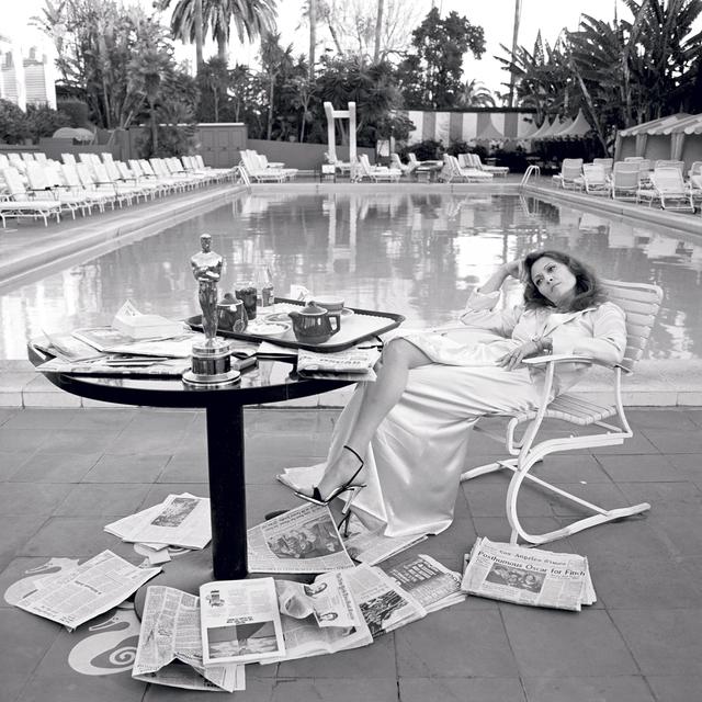 , 'Faye Dunaway,' 1977, Hilton Asmus