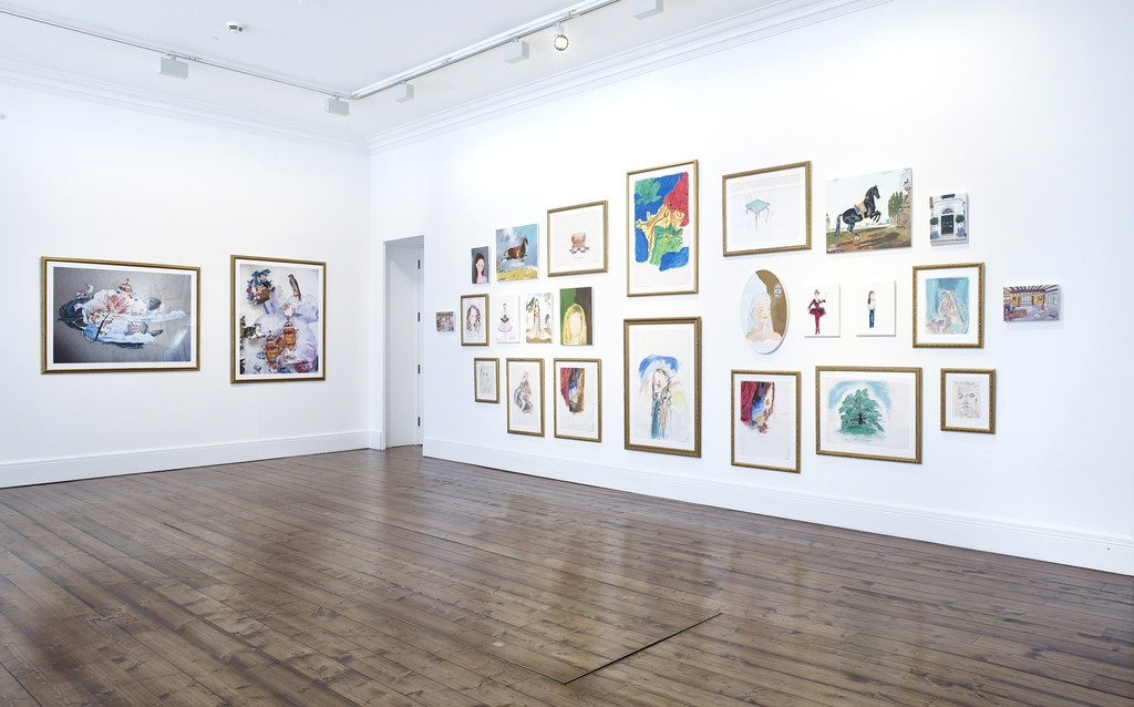 Karen Kilimnik, Installation view, Sprüth Magers, London, April 13 - May 26, 2018; Photography by Stephen White