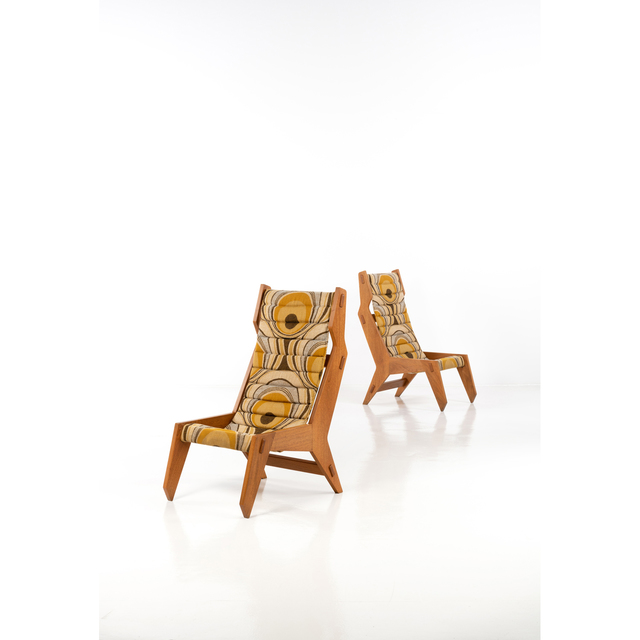 Travail Italien, 'Pair of armchairs', circa 1950, PIASA