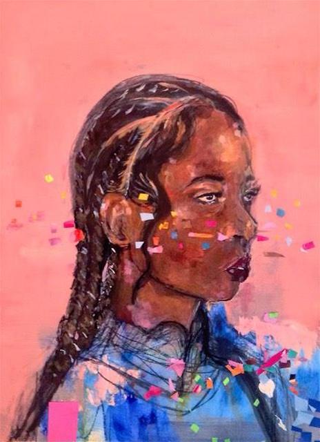 , 'Her; Pink,' 2016, Art Village Gallery