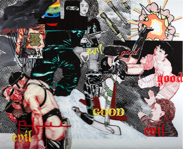 , 'Good, Evil, Pfui,' 2015, Galerie Tore Suessbier