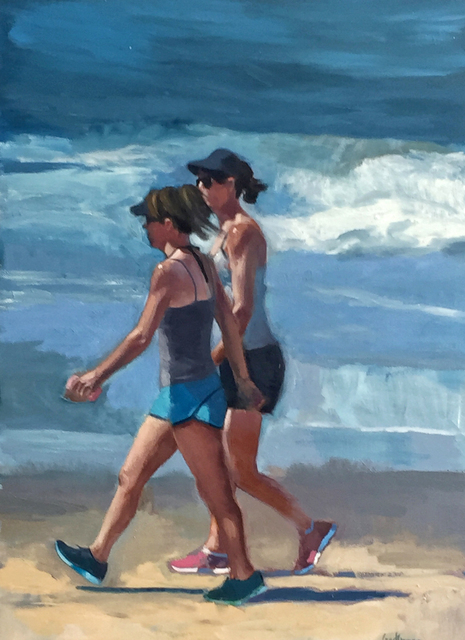, 'Walking and Talking,' 2017, Sue Greenwood Fine Art