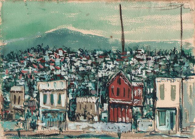Paul Keene, 'Houses Port Au Prince ', 1952, Dolan/Maxwell