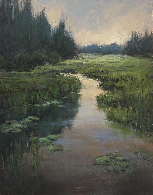 , 'Lilies at Mud Lake,' 2019, Abend Gallery
