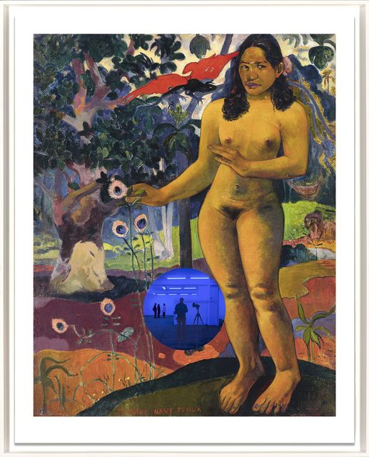 , 'Gazing Ball (Gauguin Delightful Land),' 2017, Two Palms