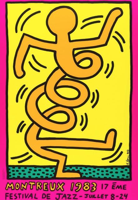 Keith Haring, 'Montreux 1983 (Prestel 8)', 1983, Artsnap