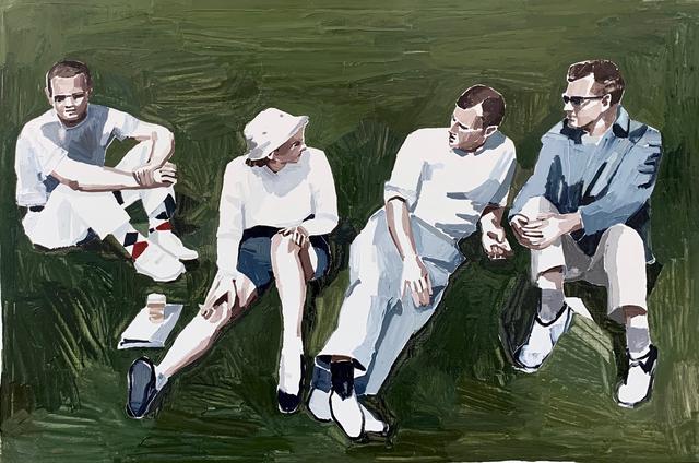Clara Adolphs, 'On The Grass', 2019, Edwina Corlette Gallery