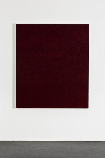 , 'Paliogen Maroon,' 2001, Galerie Michael Sturm