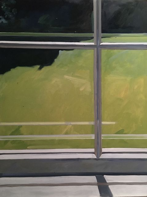 , 'New Paltz Window ,' 2018, Pleiades Gallery