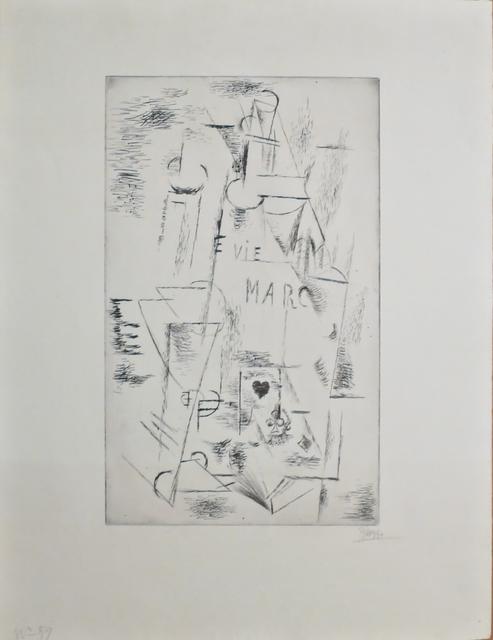 , 'Nature Morte, Bouteille,' 1911, John Szoke