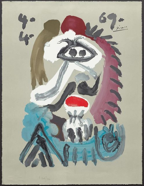 Pablo Picasso, 'From: Portraits imaginaires', 1969, Koller Auctions