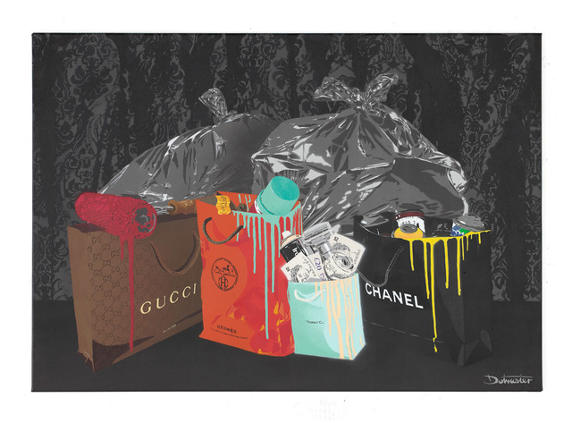 , 'Black Draped Trash,' 2014, Imitate Modern